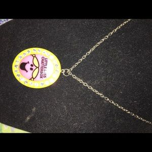 Little miss chatterbox necklace